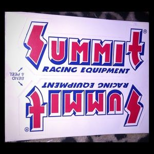 Summit Racing Equipment Car Stickers